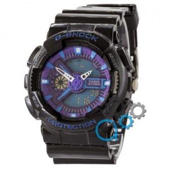 Мужские наручные часы (копия) Casio G-Shock GA 110 G Black-Blue. Днепр. фото 1