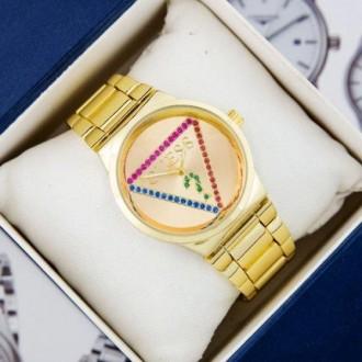 Женские наручные часы (копия) Guess 7156 Gold. Днепр. фото 1