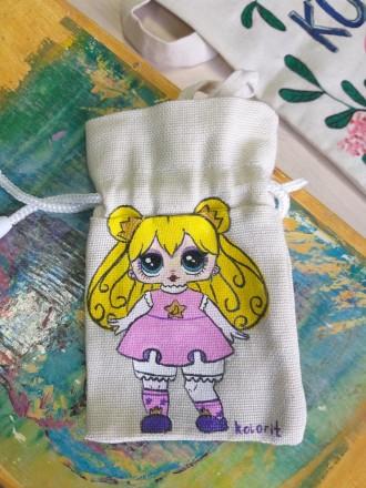 мешочек для игрушек LOL. Фастів. фото 1