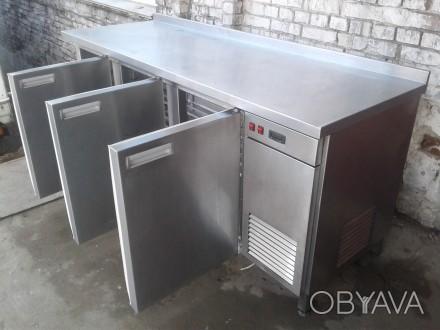 Холодильный стол 2 м. б/у, Стол холодильный б у