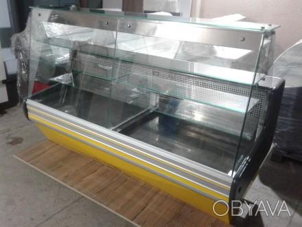 Кондитерская витрина Cold 1,4 м. б/у, холодильная витрина б у