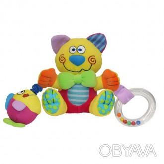 Развивающая игрушка Cat предназначена для малышей с рождения. Особенности: проре. Киев, Киевская область. фото 1