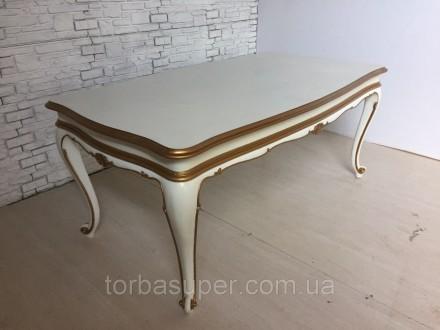 Нераздвижной обеденный стол, Италия. Днепр. фото 1