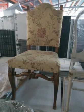 Стол обеденный раздвижной и шесть стульев. Мебель из Европы б/в.. Днепр. фото 1