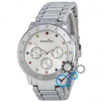 Женские наручные часы (копия) Pandora All Silver. Днепр. фото 1