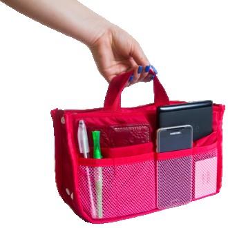 Органайзер для сумки ORGANIZE B003 красный. Днепр. фото 1