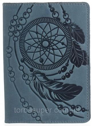 Обложка на паспорт SHVIGEL 13795 Голубая, Синий. Днепр. фото 1