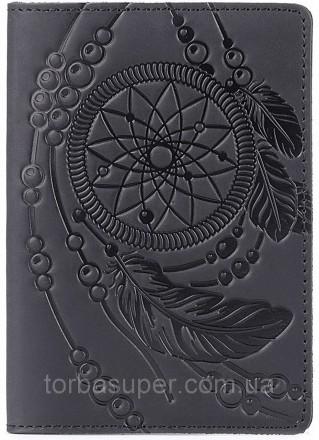 Обложка на паспорт SHVIGEL 13837 Черный, Черный. Днепр. фото 1