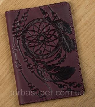 Обложка на паспорт SHVIGEL 13835 Бордовый, Бордовый. Днепр. фото 1