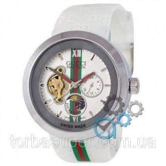 Женские наручные часы (копия) Gucci Pantcaon White-Silver-White. Днепр. фото 1
