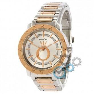 Женские наручные часы (копия) Pandora 6301 Silver-Cuprum-White. Днепр. фото 1