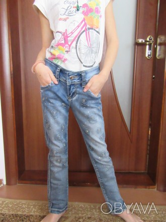 Джинсы 7-9 лет