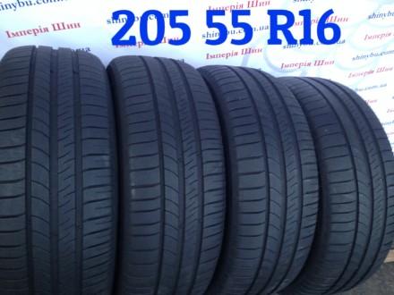 205 55 R16 Michelin Energy Saver  Шины Резина Бу 205/215/. Киев. фото 1