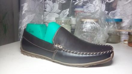 Собственное производство, обуви . Есть наработанные модели. Мокасины в любом жел. Бровары, Киевская область. фото 6