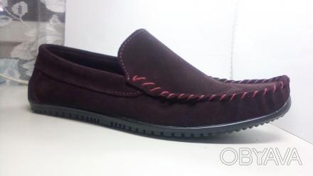 Собственное производство, обуви . Есть наработанные модели. Мокасины в любом жел. Бровары, Киевская область. фото 1