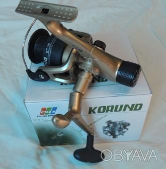 """Катушка безинерционная EOS """"Korund"""" KO50 1 Дюралюминевый корпус делает катушку . Винница, Винницкая область. фото 1"""