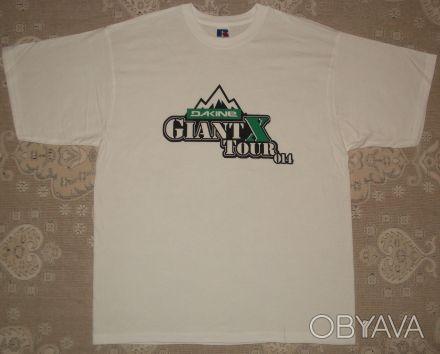 ᐈ Футболка Dakine Giant X Tour c28e6c17fff0f