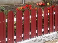 Производство металлических заборных планок для набора на секцию по размерам зака. Киев, Киевская область. фото 3