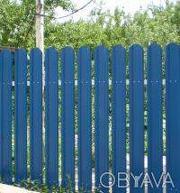 Производство металлических заборных планок для набора на секцию по размерам зака. Киев, Киевская область. фото 5