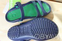Босоножки  Сrocs Cleo II -460 грн   есть синие с зеленым и черные  размер м4-. Киев, Киевская область. фото 4