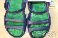 Босоножки  Сrocs Cleo II -460 грн   есть синие с зеленым и черные  размер м4-. Киев, Киевская область. фото 3