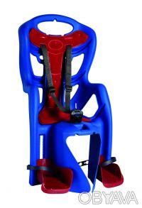 Детское велокресло заднее Bellelli PEPE Standart Multifix до 22кг. Киев. фото 1