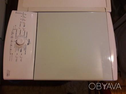 """Продам стиральную машину """"Whirpool"""", из Германии, вертикальной загрузки, на 5 кг. Киев, Киевская область. фото 1"""
