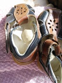 Кожаные качественные босоножки Enjoy 19 размера (12,5 см по стельке) на Вашего м. Харьков, Харьковская область. фото 5