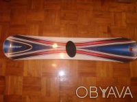 Комплект сноубордерский : борд FACTORY 157 см + крепления L-XL. Киев. фото 1