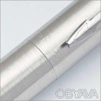 Ручка шариковая Parker Jotter Steel K61 Steel. Корпус: нержавеющая сталь. Меха. Днепр, Днепропетровская область. фото 11