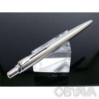 Ручка шариковая Parker Jotter Steel K61 Steel. Корпус: нержавеющая сталь. Меха. Днепр, Днепропетровская область. фото 12