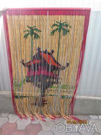 Шторка декоративна бамбукова. Тернополь. фото 1