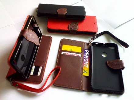 Чехол книжка Xiaomi Redmi Note 5А / 5А Prо / Prime+защитное стекло подарок. Чернигов. фото 1