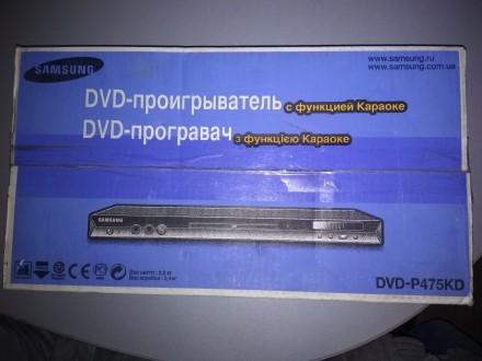 Технические характеристики Samsung DVD-P475KD  Поддержка носителей: DVD-R, DVD. Луцк, Волынская область. фото 2