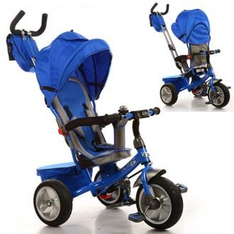 Велосипед Turbo Trike M 3205A-1 Blue. Харьков. фото 1