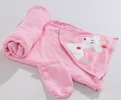 Махровое полотенце с уголком. Красивая вышивка. Турция. Харьков. фото 1