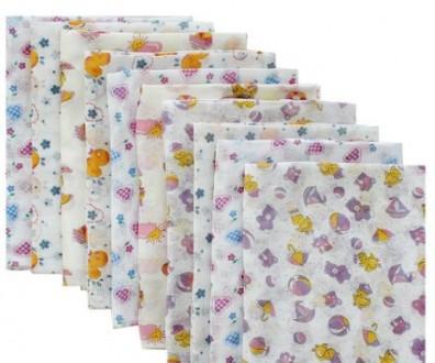 Детская цветная пеленка из ситца для мальчиков и девочек. Харьков. фото 1