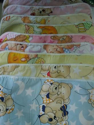 Детская многоразовая пеленка из бязи 40х60 см для мальчиков и девочек. Харьков. фото 1