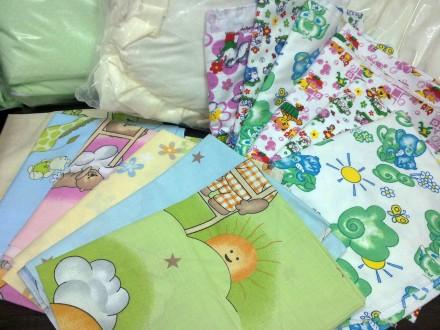 Детская цветная пеленка из бязи для мальчиков и девочек. Харьков. фото 1