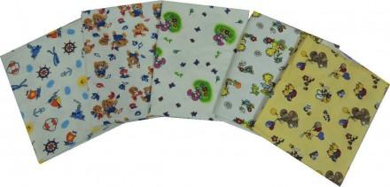 Детская цветная пеленка из фланели для мальчиков и девочек. Харьков. фото 1
