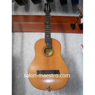 ( 1317 ) Черниговская гитара 3\4. Отличный инструмент для начинающего музыканта. Чернигов. фото 1