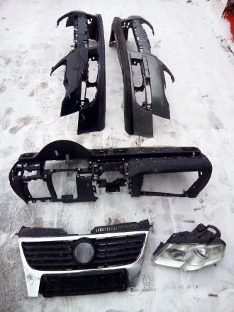 Бампер передний 91-96 /без отв под противотуманки/ VOLKSWAGEN T4 [91-03] (кроме . Полтава, Полтавская область. фото 4