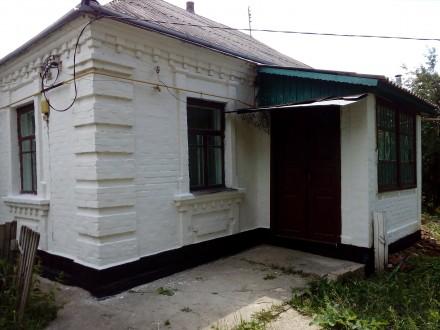 Продам цегляний будинок,є газ,вода заведена в хату,два входи в хату город 18 сот. Бранное Поле, Киевская область. фото 3