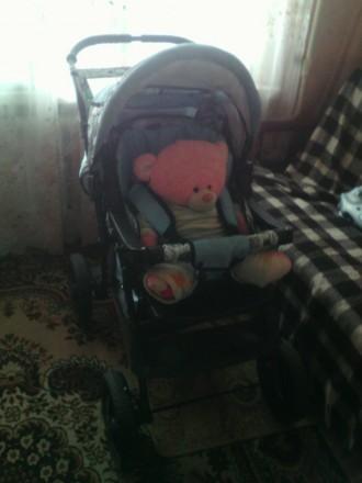 Продам 3- вариантную коляску -трансформер. Бахмут (Артемовск). фото 1