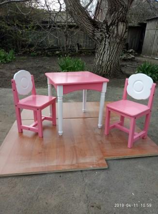 Стол и стулья. Кривой Рог. фото 1