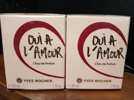 Парфюмерная вода Oui A L'Amour 30 мл Ив Роше Yves Rocher. Николаев. фото 1