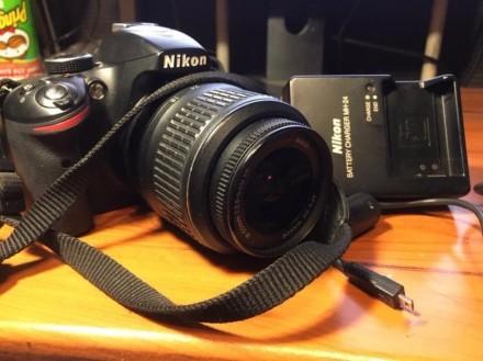 Зеркальная камера (фотоаппарат) Nikon d3200. Киев. фото 1