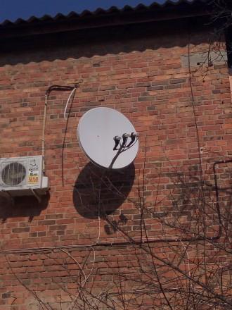 Продам спутниковую тарелку + 2 ресивера Orton 4060CX Plus. Харьков. фото 1