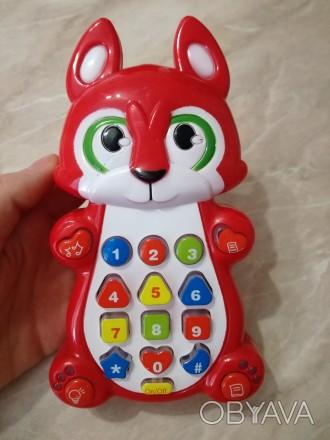 Детский смартфон - замечательная развивающая игрушка для малышей. Вместе с телеф. Чернигов, Черниговская область. фото 1