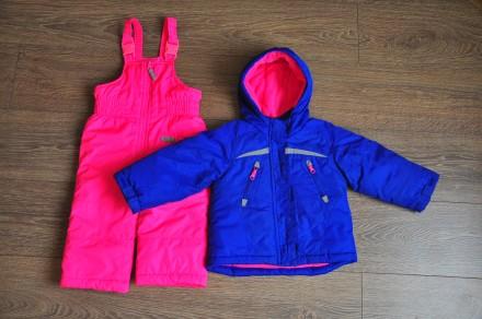 Дитячий комбінезон Carters куртка і штани, розмір 18 місяців, ріст 76 - 81 см, в. Тернополь, Тернопольская область. фото 2